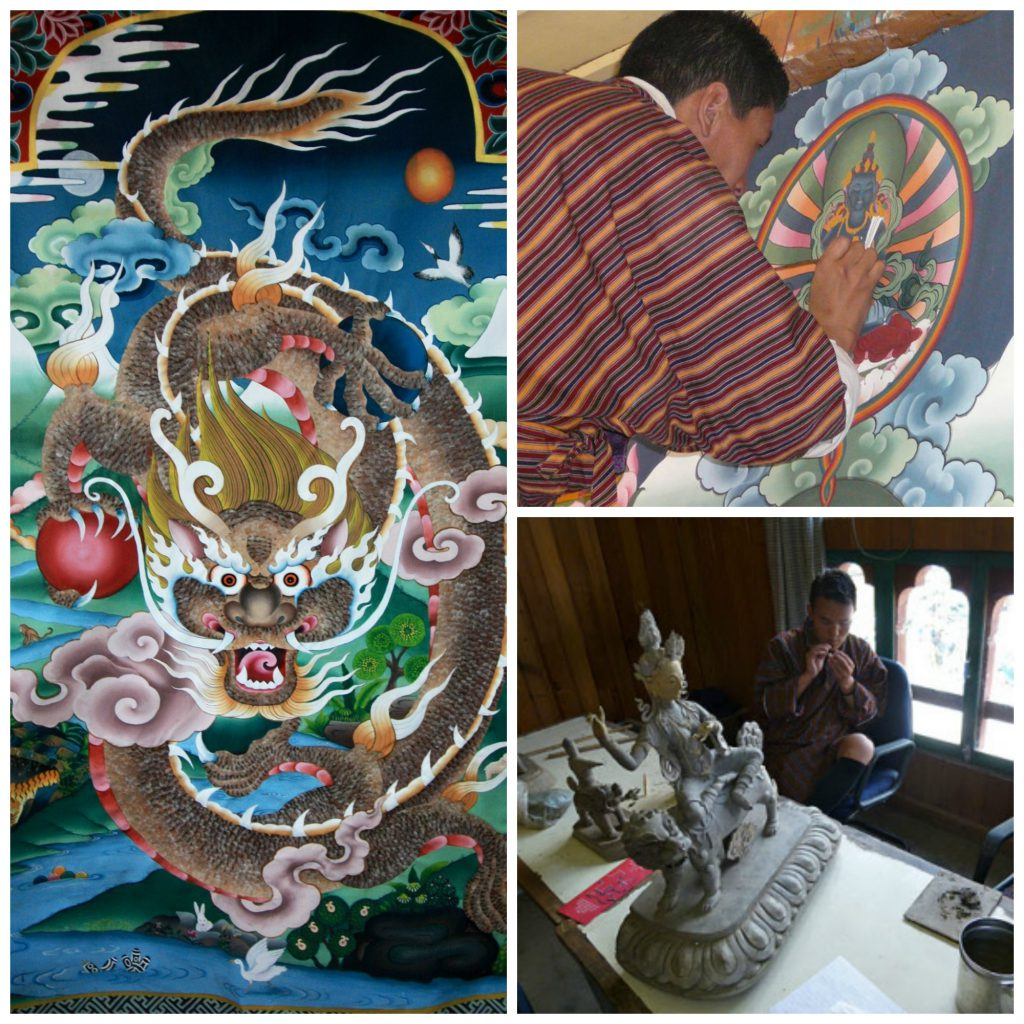 Zorig Chusum Institute, The 13 arts of Bhutan